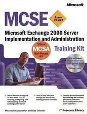 MCSE Training Kit, Microsoft Exchange 2000 Server : Microsoft Exchange 2000