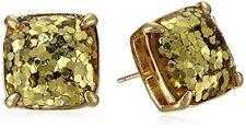 Kate Spade Gold Square Stud Earrings 0554