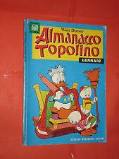 ALBO D'ORO ALMANACCO DI TOPOLINO n° 1 - DEL 1968 -ORIGINALE  mondadori-