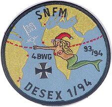 Marine Aufnäher Patch Fregatte Bremen F207 SNFM DESEX 1/94 .........A4713