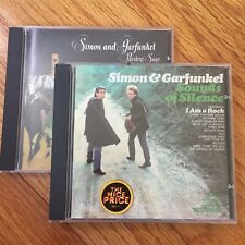 Simon & Garfunkel ‎– 2xCD LOT - Sounds of Silence, Parsley, Sage, Rosemary Thyme