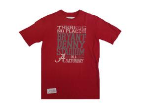 Alabama Crimson Tide No Place Like Bryant Denny Stadium Maroon T-Shirt Small