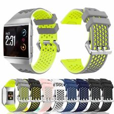 For Fitbit Ionic Strap Silicone Sports Fitness Replacement Wristband watch