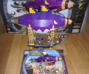 MEGA BLOKS WORLD OF WARCRAFT GOBLIN ZEPPELIN AMBUSH 91014