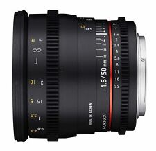 ROKINON DS 50mm T1.5 Cine Lens for Canon EF