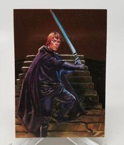 1996 Topps Star Wars Finest Luke Skywalker F2 NM/M