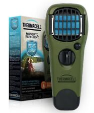 New Thermacell Mosquito Repellent Appliance Olive MR-150, W/1Cartridge & 3Mats