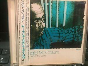DONALD McCollum - U Don´t Want My Love - CD, JAPAN, OBi