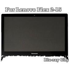 "15.6"" Lenovo Flex 2 15 15D LCD Touch Screen Display Digitizer Bezel Assembly"