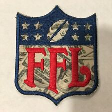 487101d1d MONEY PRINT Fantasy Football FFL Patch for Jersey Trophy Champion Shirt  Award