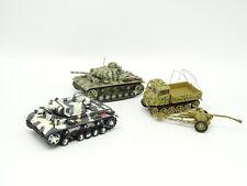 Altaya Militaire Army 1/72 - Lot de 2 Char / Tank + Steyr sur Chenilles