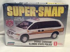 Lindberg Dodge Caravan Illinois State Police 1/25 Scale Model Car Kit! #325