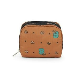 LeSportsac BTS Collection Square Cosmetic in BT21 SHOOKY NWT