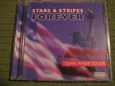Original Vintage STARS & STRIPES FOREVER John Philip Sousa CD 400RO