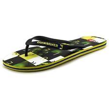 Sandales et chaussures de plage noire Quiksilver pour homme