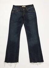 Levis 570 jeans donna usato denim W27 tg 40 41 straight fit slim vintage T3115