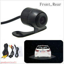 DC12V Waterproof 2in1 Wide Viewing Angle Vehicle Reverse Backup CCD Mini Camera