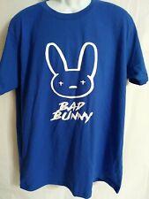 New listing Bad Bunny Logo Hip Hop Reggaeton Music Size XL T-Shirt Vtg Distress Style Print