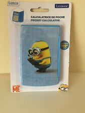 Despicable ME POCKET CALCULATOR by LEXIBROOK NEW