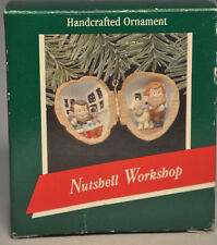 Hallmark - Nutshell Workshop - Elves At Work - Classic Keepsake Ornament