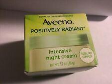 Aveeno Positively Radiant Intensive Night Cream, 1.7 oz.