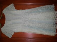 BNWT Marks and Spencer Collection dentelle brodée Comme neuf Robe de Mariage 12, courses