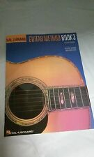 GUITAR INSTRUCTIONAL BOOK 3 by HAL LEONARD DROP D SCALES SLIDES BENDS CHORDS-NEW