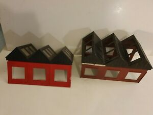 Hornby? Triang ? 00 gauge model train shed? railway factory ? building  layout
