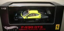 1:43 HOT WHEELS FERRARI F430 GT3 6H VALLELUNGA VALENTINO ROSSI 2009 RARE NEW