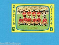 PANINI CALCIATORI 1985/86 -FIGURINA n.575- LIVORNO - SQUADRA -Rec