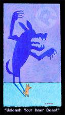 """Matt Rinard """"Unleash the Inner Beast"""" Ltd Ed Litho Unframed"""
