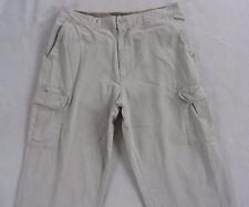 Old Navy Men's Khaki Cargo Pants - Tag 38x32 Measured 38x31