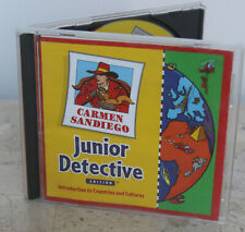 Carmen Sandiego * Junior Detective Edition * Cd-Rom Game ~ Countries & Cultures