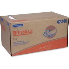 KIMBERLY CLARK L10 Utility Wipes, 10 1/4 x 9, White, 250/Box 42346