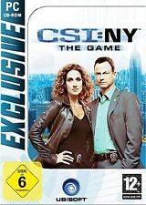 CSI NY New York The Game para PC nuevo embalaje original