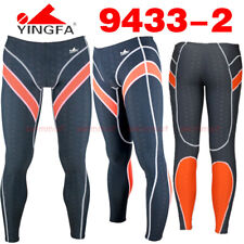 "NWT YINGFA 9433-2 MEN SHARKSKIN RACING TRAINING LEGSKIN XXL WAIST 33.5-36"" Sz 34"