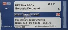 VIP TICKET 2013/14 Hertha BSC Berlin - Borussia Dortmund