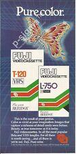 FUJI video cassettes 1982 Vintage Print Ad # 162 3