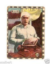 AUTOMOBILISMO    FIGURINA    EDIZ. CICOGNA 1946  RAPH    NR 18