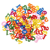 100pcs Wooden Numbers Wood Crafts for Kids Preschool Number Cognition Toy
