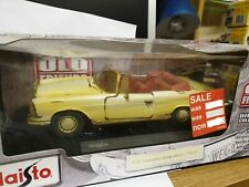 Maisto Old Friends 1:18 Mercedes Benz 280SE 1967