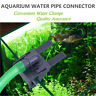 Acrylic Aquarium Outflow Inflow Water Pipe Hose Fish Tank Tube Clip Mount Holder