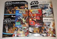 Cartoon Network Star CLONE WARS Vol 1 & 2 Commemorative DVD 3 Figure Pack SET
