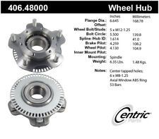 Wheel Bearing and Hub Assembly-Premium Hubs Front Centric 406.48000