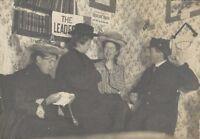 1910s Olivet College Michigan Men & Women Teachers in Costume Cabinet Card