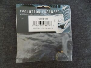 EVOLUTION ENGINES PART #EVO061E61C SMALL PARTS SET CARBURATOR ~ NEW IN PACKAGE