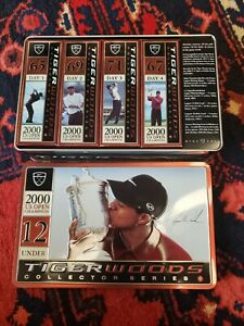 Tiger Woods Nike Collector Series of 12 balls (4 Sleeves) 2000/ US Open Champion