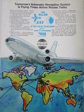 8/1973 PUB COLLINS AUTOMATIC NAVIGATION SYSTEM DC-10 AIRLINER UTA AIR AFRIQUE AD