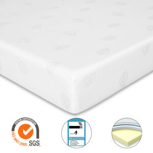 GUDE NIGHT* Memory Foam Mattress Orthopaedic Rolled 3 Zone 3ft 4ft6 5ft King