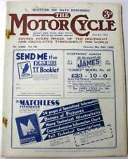 May Motor Cycle 1st Edition Transportation Magazines